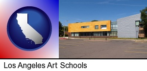 Los Angeles, California - Hartford Art School in West Hartford, Connecticut