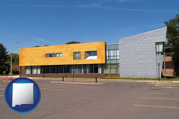 Hartford Art School in West Hartford, Connecticut - with New Mexico icon